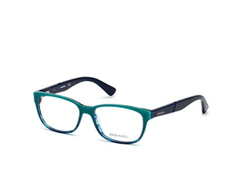 Diesel Unisex-Erwachsene Brillengestelle DL5265 089 49, Türkis (Turchese)