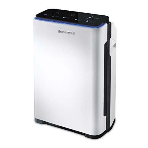 Honeywell Premium Air Purifier (true HEPA, allergy, air quality sensor, CADR 204m3/h, 4-stage filtration) HPA710WE