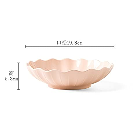 Creative soup plate/the dish/home ceramics,western-style deep plate/salad plate/location-C