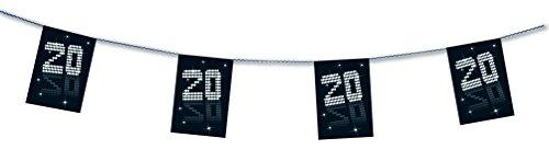 Girlande chinesische Zeichen Kunststoff 2m - 2