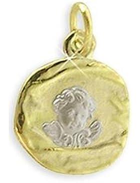 Schutzengel Anhänger echt 585 Gold 14 Karat (Art.213029) GRATIS-SOFORT-GRAVUR