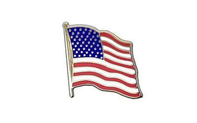 MaxFlags USA Flaggen Pin, amerikanische Fahne 2x2cm gebraucht kaufen  Wird an jeden Ort in Deutschland