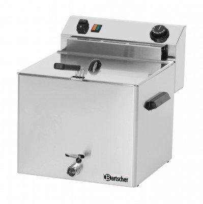 Bartscher Elektro Fritteuse Professional mit Fettablasshahn - 162900