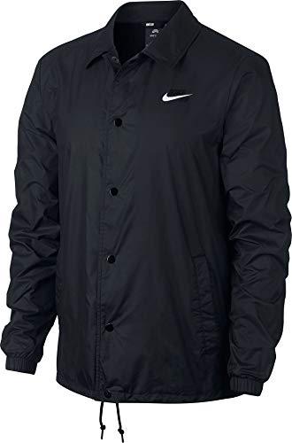 Nike Herren M Nk Sb Sheild JKT Coaches Jacket, Schwarz/Weiß, L