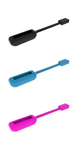 Fitbit Flex 2Clip-Halter, magnetisches Ersatz-Zubehör mit starkem Magnet, kabellos - Uhr Halter Stift