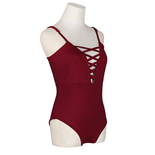 Ba Zha Swimwear -  Costume intero  - Donna Red