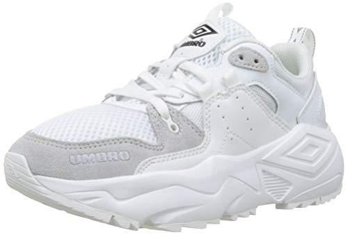 Umbro Run M, Scarpe da Fitness Donna, Bianco White H96, 35.5 EU