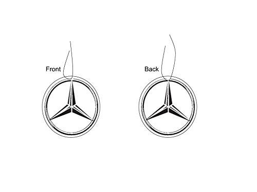 Deodorante per auto con logo Mercedes