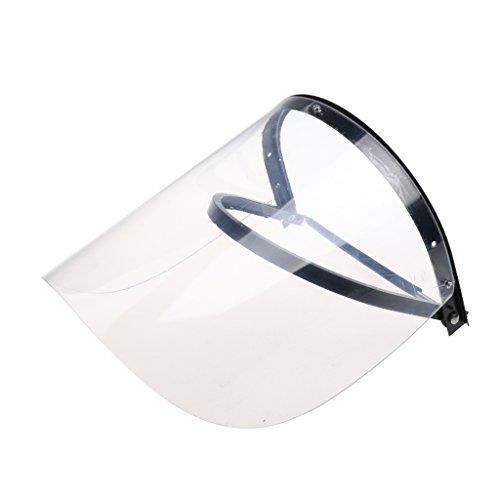 1 Stück Gesichtsschirm Augen- und Gesichtsschutz Helm-Visier Schutz vor Spritzern, Partikeln und herumfliegenden Teilen 3mm Stärke