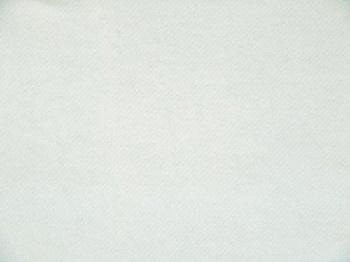 Bühnenmolton, schwer entflammbar, weiß gebleicht, 300cm