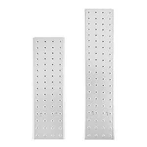 MAXCRAFT Conjunto de Plataformas para Multi-propósito Escalera Multifunción 4×4 Peldaños Escalera de Aluminio