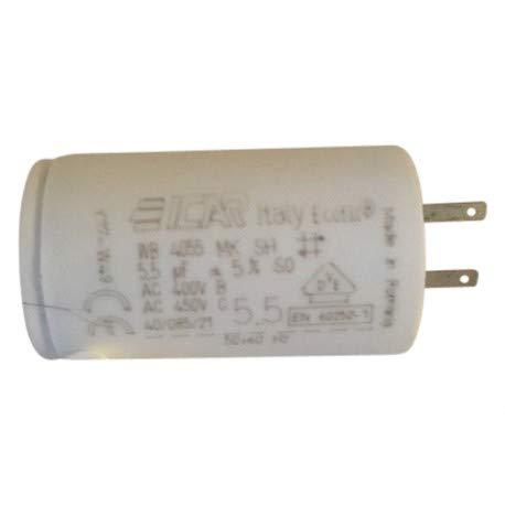 3 condensateurs 5.5 µF pour volet roulant SOMFY cosses 28mm