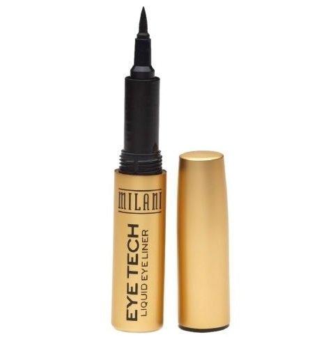 Milani Eye Tech Liquid Eyeliner, Black 01 .01 fl oz (.44 ml) by Milani