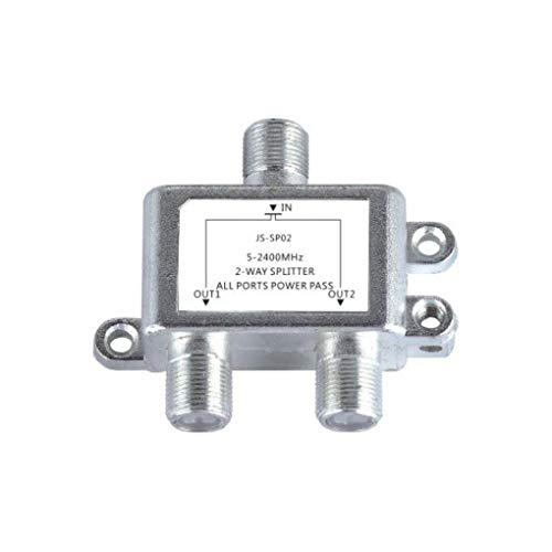 Yongse Jasen JS-SP02 Satellite 2 Way HD Digital Coax Cable Splitter Bidirektionaler MoCA Stecker Digitale Coax-splitter