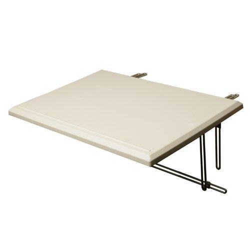 CON:P CMB405530 Balkon-Tisch, 60 x 40 cm | Garten > Balkon > Balkontische | Weiß | Kunststoff | CON:P