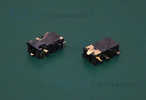 Ochoos 20 x 3,5 mm Klinkenstecker, 6 feste Füße, SMT, Kopfhöreranschluss, Größe 12 x 6,2 x 4 mm, passend für MP3-Player, Handy, Tablet
