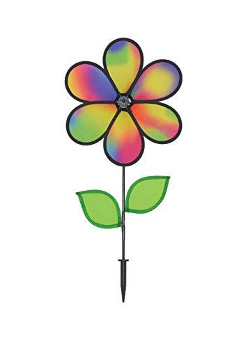 Breeze dans The Rainbow Sparkle Fleur Spinner avec Feuilles 12-inch 12\