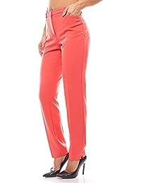 CLASS INTERNATIONAL Hose Damen Stifthose Stoffhose Damenhose Jersey Schwarz SALE