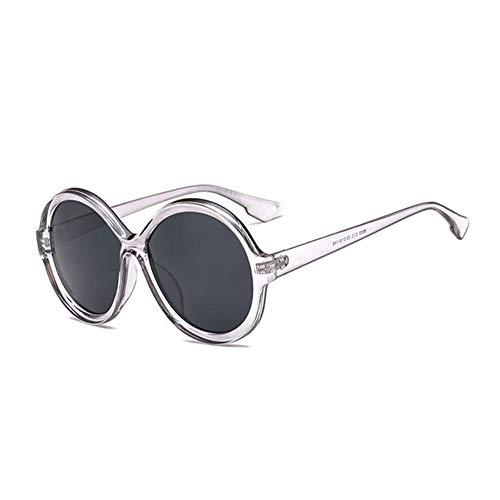 XCTY Sonnenbrillen Runde Sonnenbrille Frauen Jahrgang Farbverlauf Sonnenbrillen Mode Eyewear, F