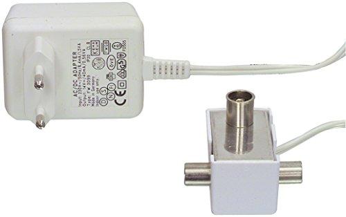CATV Profi Zweigeräteverstärker TV Verstärker 2x 6dB IEC