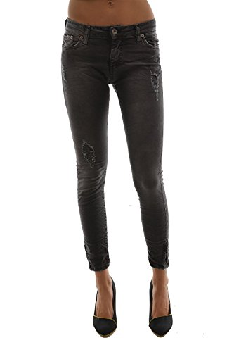 Please -  Jeans  - Donna nero X-Small