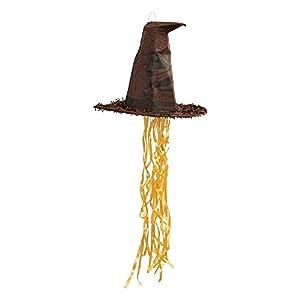 Unique Party 66398 - Sombrero de Harry Piñata piñata, cuerda de tirar