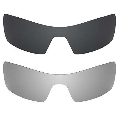 Revant Ersatzlinsen für Oakley Oil Rig Polarisiert 2 Paar Kombipack K001