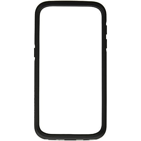 Samsung Galaxy S7 Bumper Funda - RhinoShield [CrashGuard] Carcasa - Absorción de Impactos [ShockSpread Tecnología] Case - Fino y Ligero [30 años de garantía] - Negro Carbón