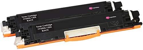 Colour Laserjet-laser-toner (2 INK INSPIRATION® Premium Toner kompatibel für HP 130A CF350A Colour Laserjet Pro MFP M176n, M177fw | 1.300 Seiten)