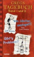 Gregs Tagebuch Band 1 und 2 im Doppelband: Von Idioten umzingelt + Gibt's Probleme?