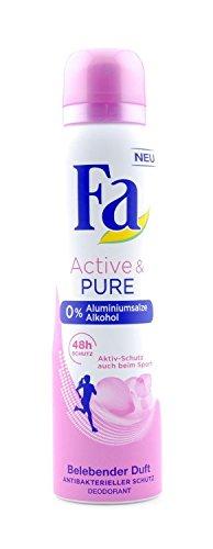 Fa Deodorant Spray Active & Pure, 150 ml