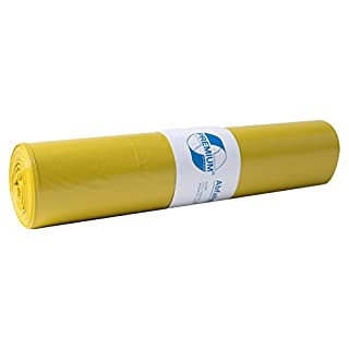 Müllsäcke DEISS PREMIUM gelb Typ 60, 70 Liter