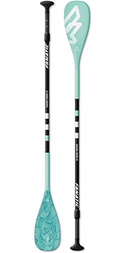 Fanatic Diamond Carbon 35 3-teiliges verstellbares SUP Stand Up Paddle Boarding Paddel...