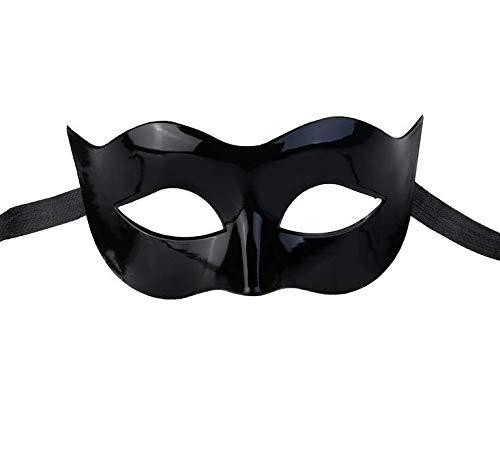 Männer Maskerade Kostüm - Losuya Schwarze Kostüm Maskerade Maske für Männer Frauen Party Ball Halloween Masken Dekoration