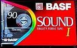 BASF Sound 3 x 1 (Typ I), blanko, Audio, Eisen (III) Cassette Tape C90 90 Minuten