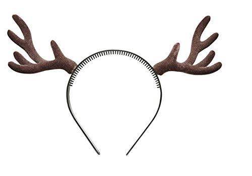 Widmann - Rentiergeweih auf - Elch Kopf Kostüm