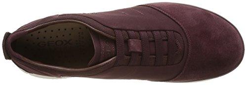 Geox Herren U Nebula B Sneakers Rot (BURGUNDYC7016)