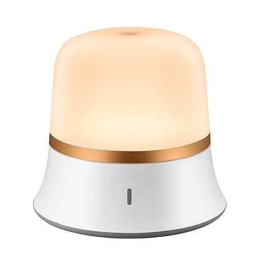LED Nachtlichtlampen,TOPELEK IP65 Wasserdicht LED Nachtlicht Nachtleuchte mit Berührungssensor,Touch Control Nachtlichter, LED Schlummerleuchte, Augenschutz-LED Nachtlicht, Camping Lampe, einstellbare Helligkeit und Farbtemperatur, Sicher ABS + PP, Warmweiß/Kaltweiß.