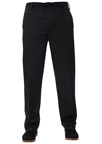 Kruze Mens Regular Fit Relaxed Elasticated Rugby Trouser Pants