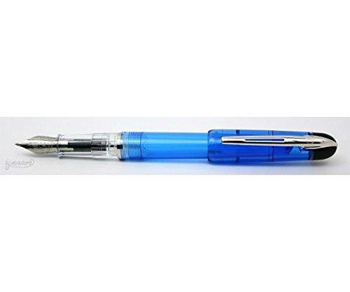 Waterman-Kultur: pluma estilográfica azul translúcido