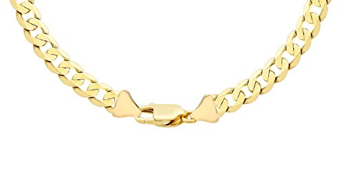 Carissima Gold 9ct Yellow Gold Curb Chain of 61cm/24″
