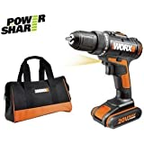Worx 20V Li-On 1.5Ah Drill Driver with 1 Battery.