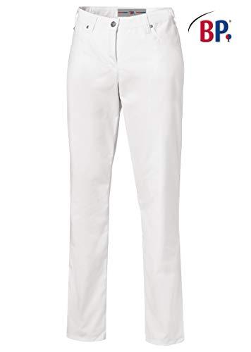 BP 1662 686 Damen Jeans aus Mischgewebe mit Stretchanteil weiß, Größe 38n