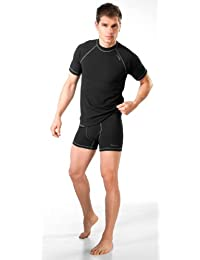 gWINNER ® Homme Thermo SET T-Shirt + Shorts fonctionnelle - SILVERPLUS® CLASSIC - DRY Line