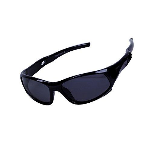 Qixuan Kinder Sonnenbrille TR90 Polarisierte Sportbrille für Jungen und Mädchen Alter 3-12, Rahmen Flexiblem Gumm,100{9439e3c689adf20aef74d84ff34726980a077b8258d7982922c60274542d7cd9} UV-Schutz, mit Etui