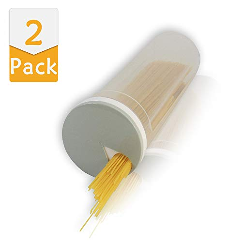 Blizim 2 pezzi contenitore per spaghetti contenitori alimentari con coperchio