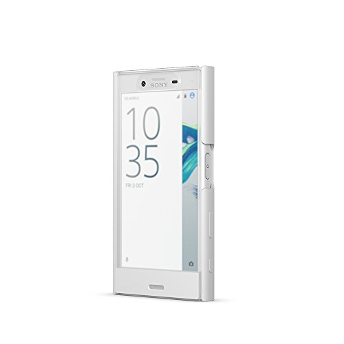 Sony 1304-4700 Etui tactile pour Sony Xperia X Compact Blanc