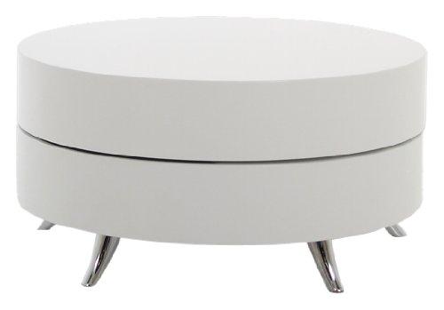 ABC Home Scandinavian Style Table basse Pied en argent