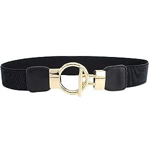 YouBella Jewellery Celebrity Inspired Adjustable Kamarband Waist Belt for Women/Girls (YB_Belt_17) (Black)