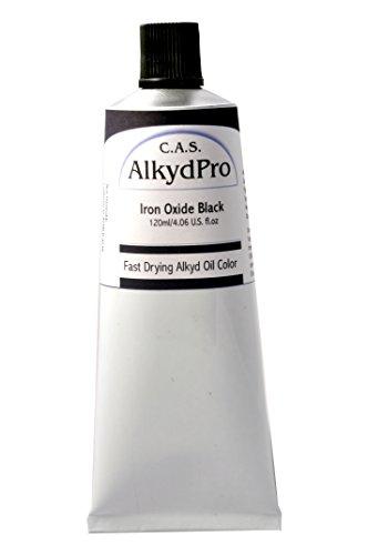 ALKYDPRO Ölfarbe, schnelltrocknend, 120 ml 120 ml Iron Oxide Black -